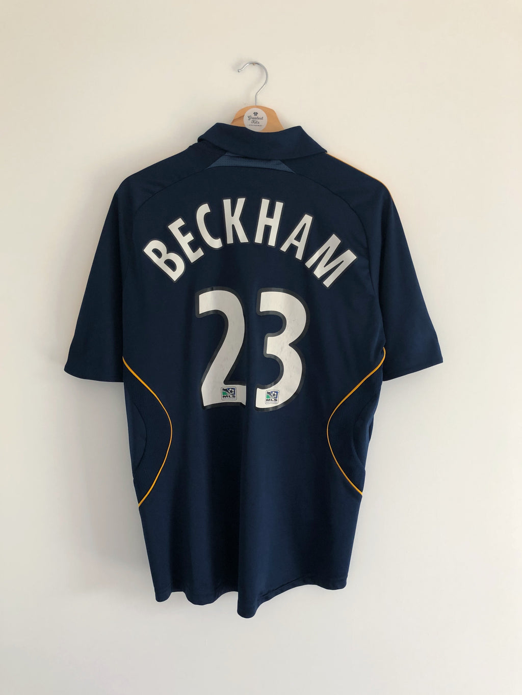 2007/08 LA Galaxy Away Shirt Beckham #23 (M) 8/10