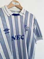 1988/90 Everton Away Shirt #9 *Signed* (M) 9/10