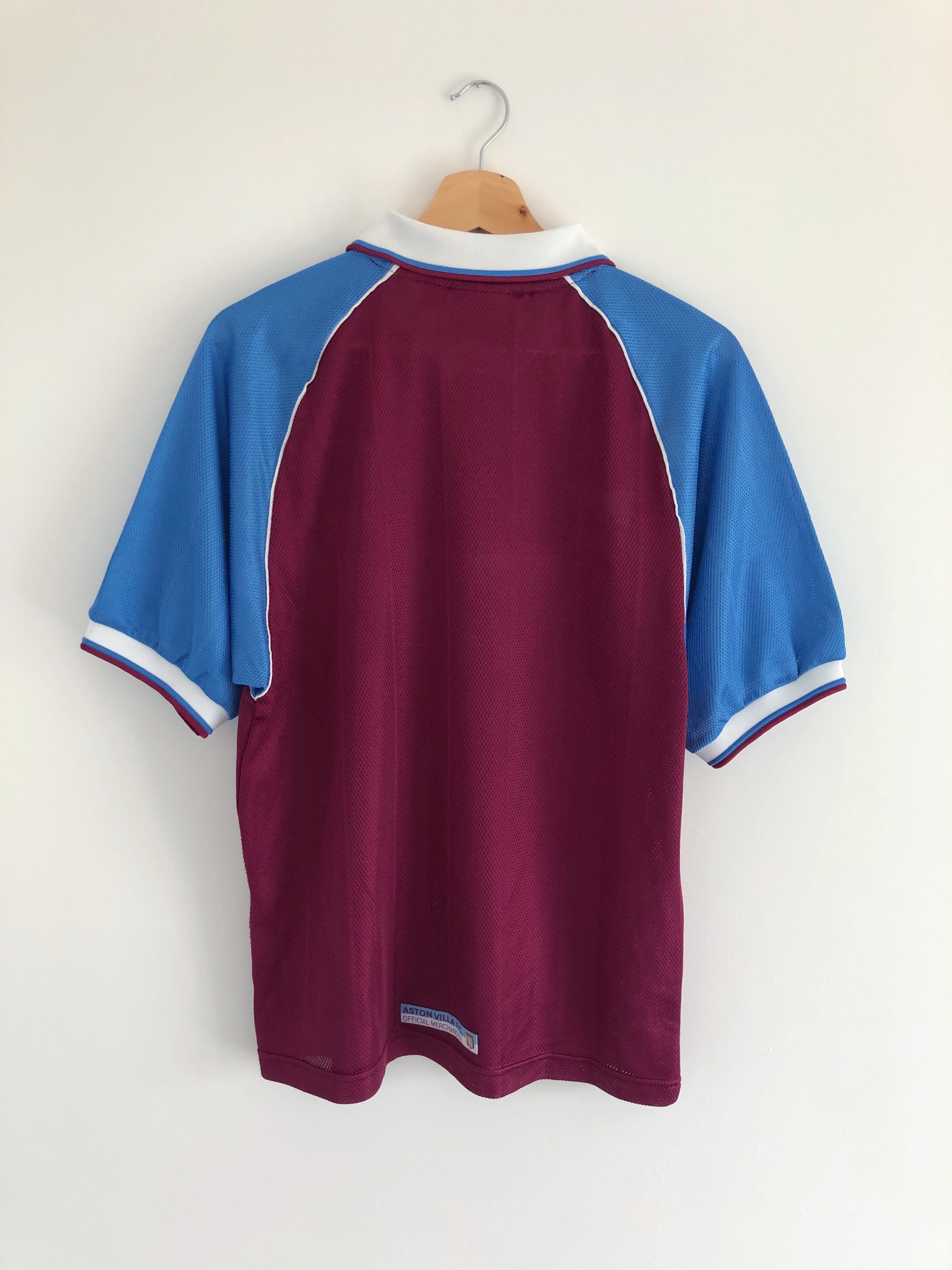 1998/99 Aston Villa Home Shirt (S) 10/10