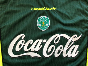 2000/01 Sporting Lisbon B *Match Issue* Away Shirt #5 (L) 9/10