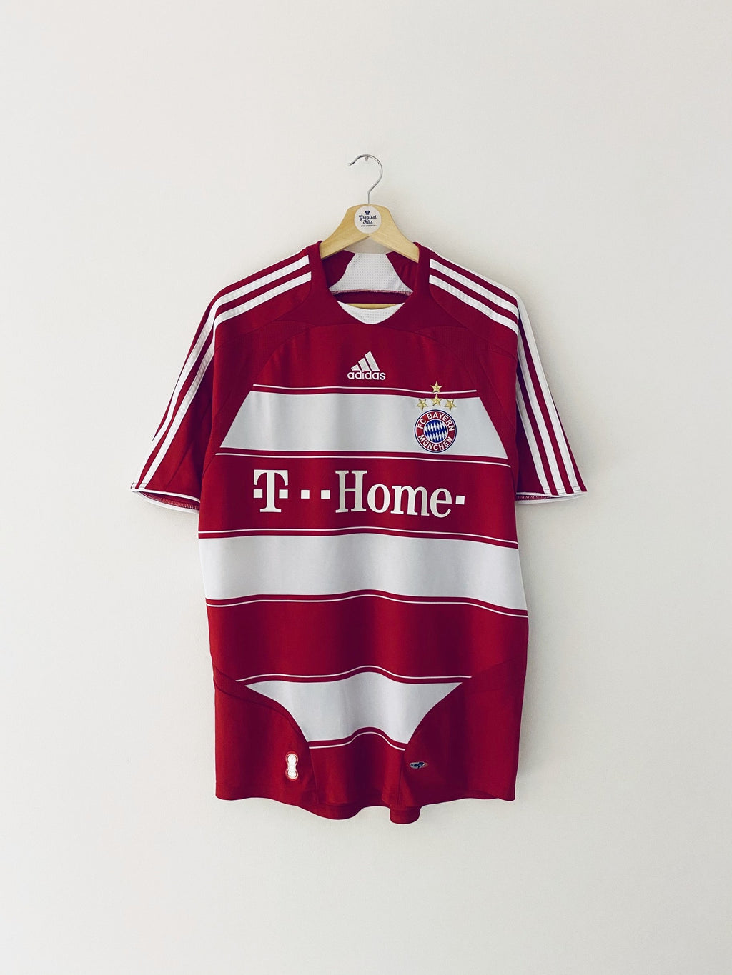 2007/09 Bayern Munich Home Shirt (M) 8.5/10
