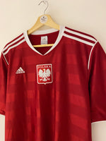 2011/12 Poland Training Shirt (L) 9/10
