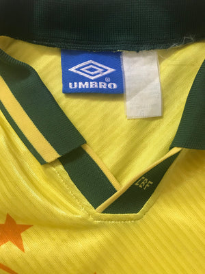 1994/97 Brazil Home Shirt (XL)