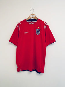 2004/06 England Away Shirt (L) 9/10