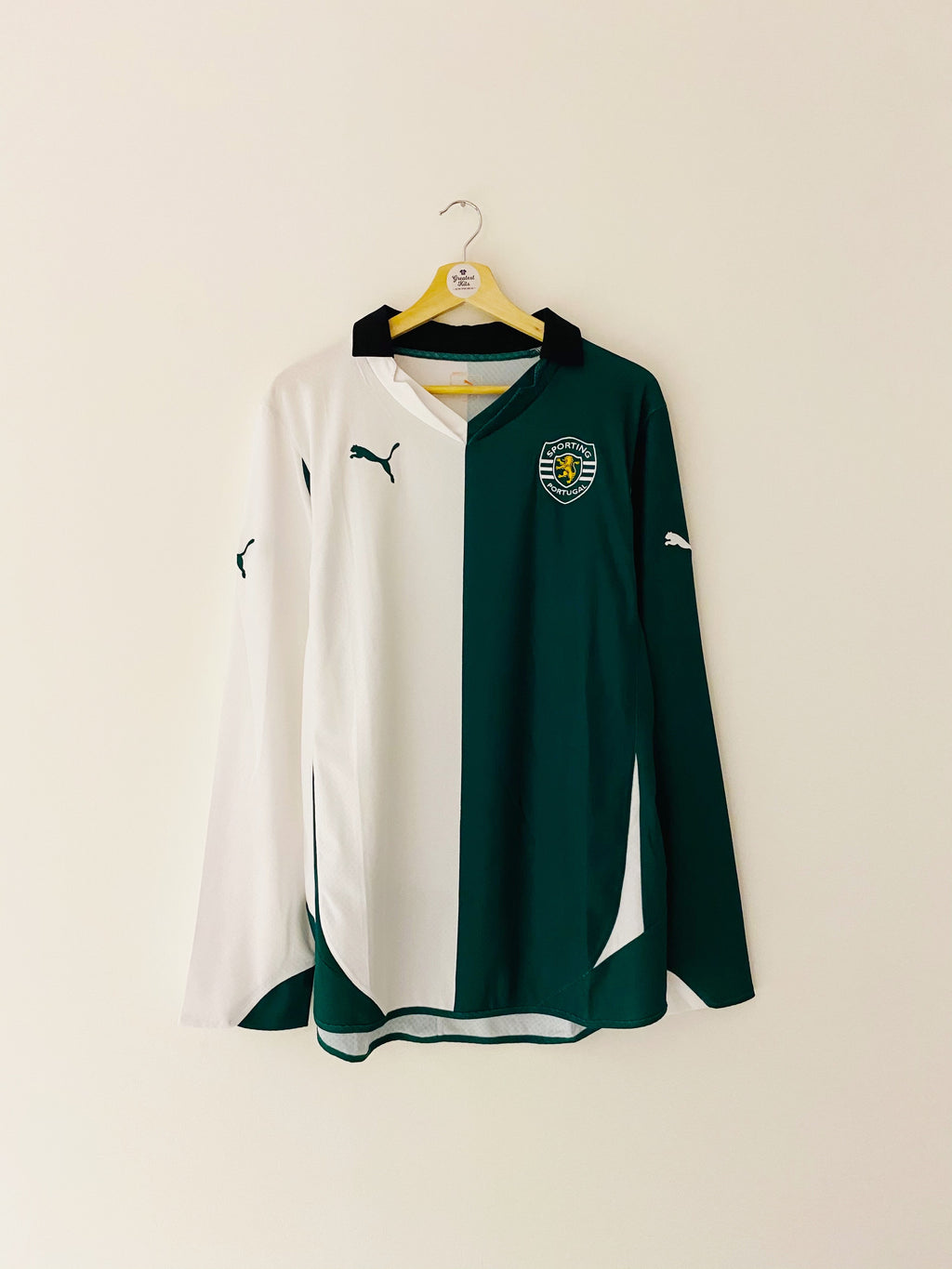 2010/11 Sporting Lisbon Third L/S Shirt (L) 9/10