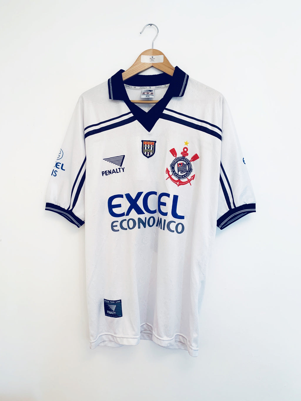 1998 Corinthians Home Shirt #10 (Edilson) (XL) 9/10