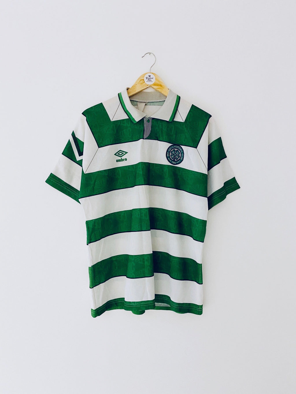 1992/93 Celtic Home Shirt (L) 7/10