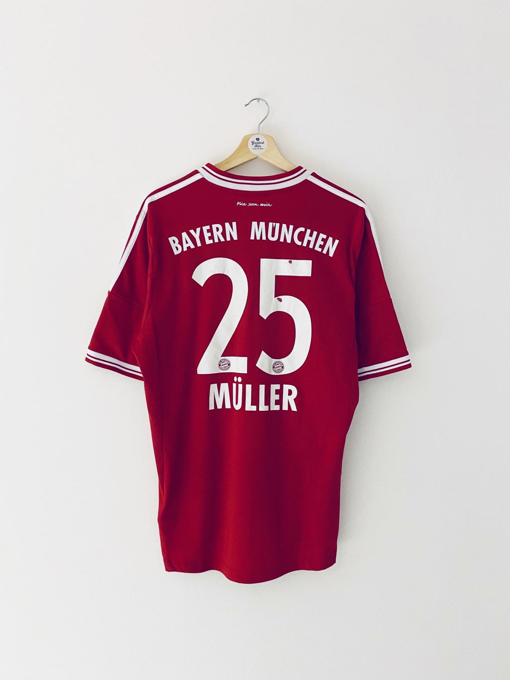 2013/14 Bayern Munich Home Shirt Muller #25 (L) 7/10