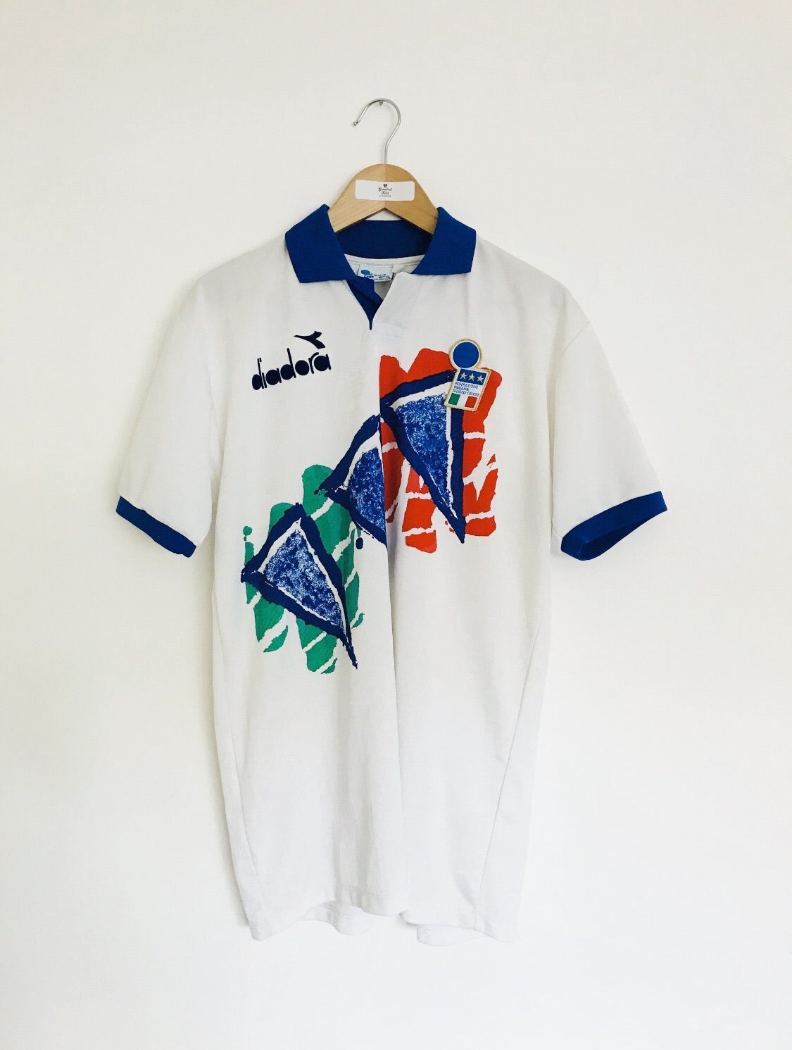1993/94 Italy Training Shirt (L) 8.5/10
