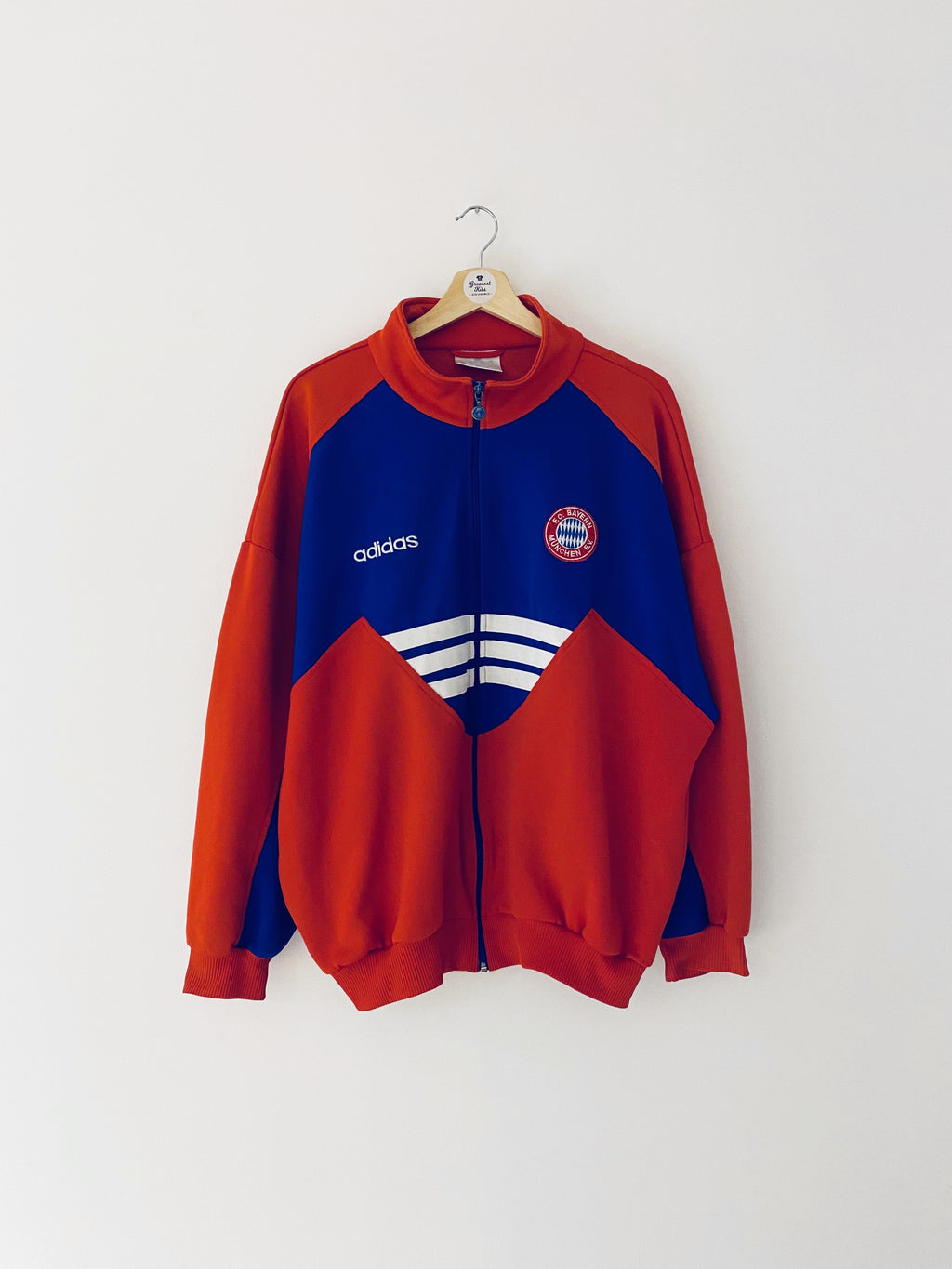 1993/95 Bayern Munich Track Top (L) 9/10