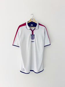 2003/05 England Home Shirt (L) 9.5/10