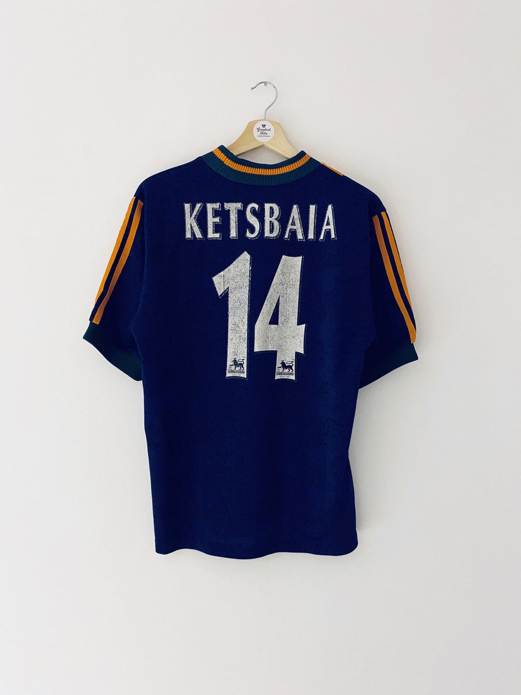 1997/98 Newcastle Away Shirt Ketsbaia #14 (S) 7/10