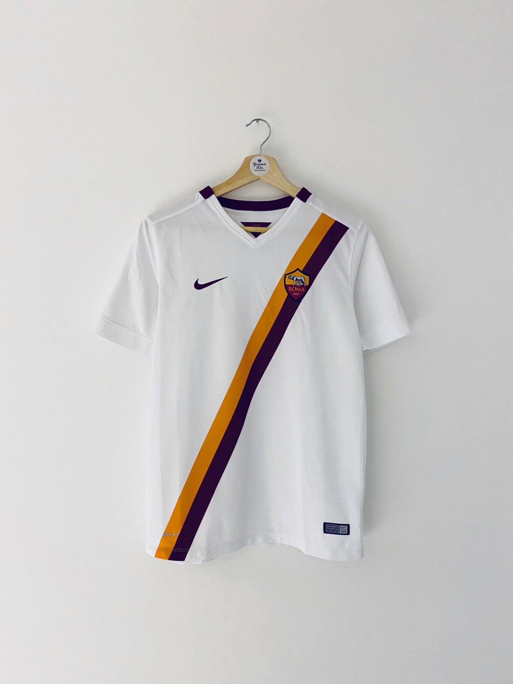 2014/15 Roma Away Shirt (XL.Boys) 7/10