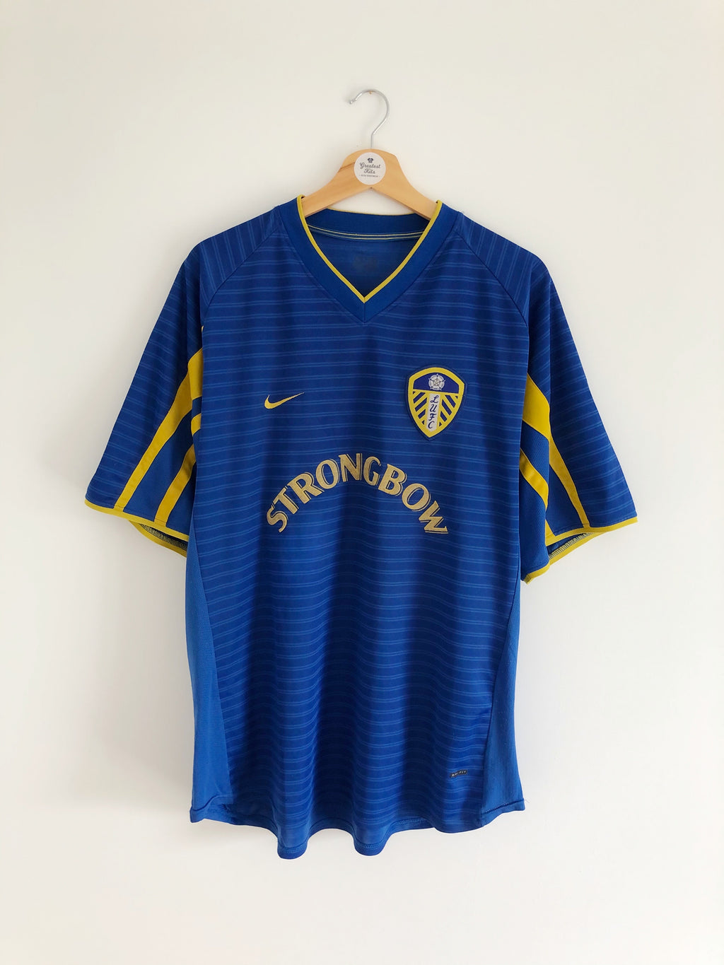 2001/03 Leeds United Away Shirt (XL) 8/10
