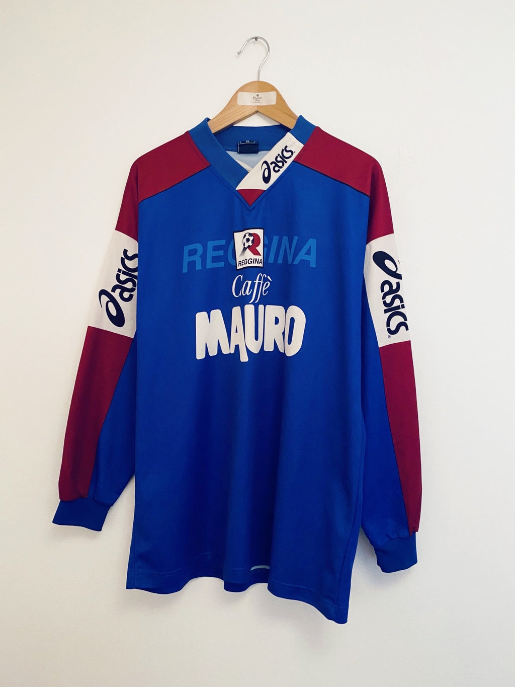 1999/00 Reggina Training L/S Shirt (XL) 9/10