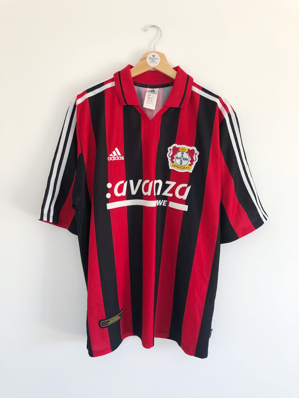 2000/01 Bayer Leverkusen Home Shirt (XL) 9.5/10