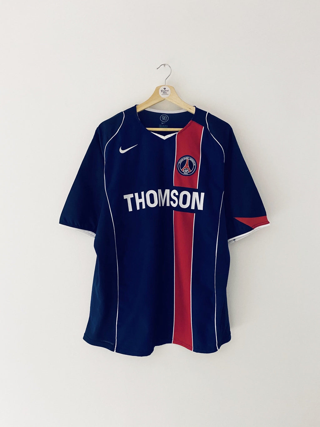 2004/05 Paris Saint-Germain Home Shirt (XL) 9/10
