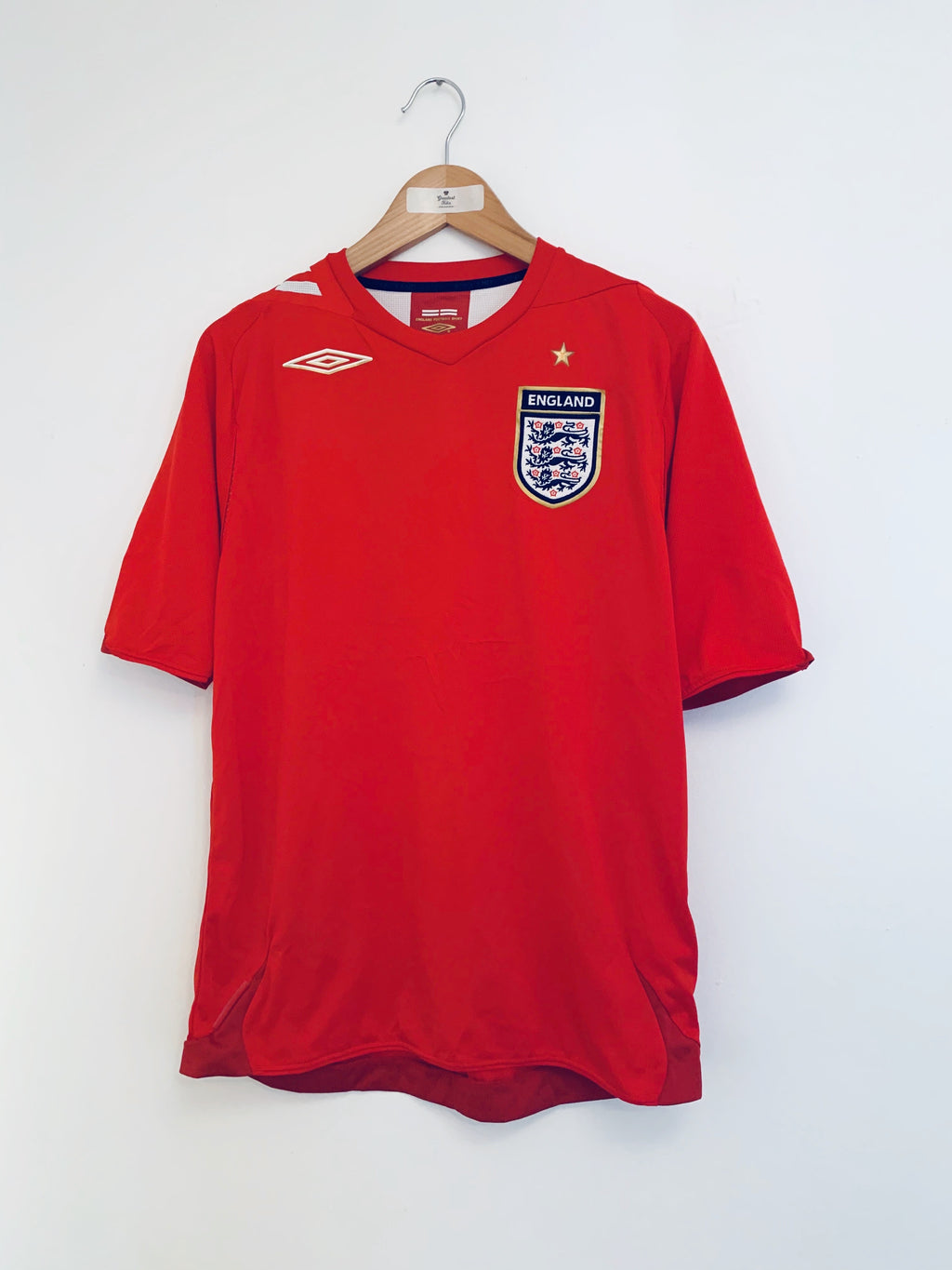 2006/08 England Away Shirt (M) 9/10
