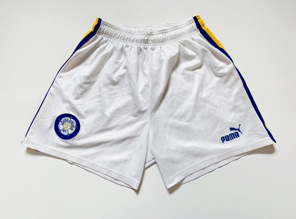 1996/98 Leeds United Home Shorts (L) 7/10