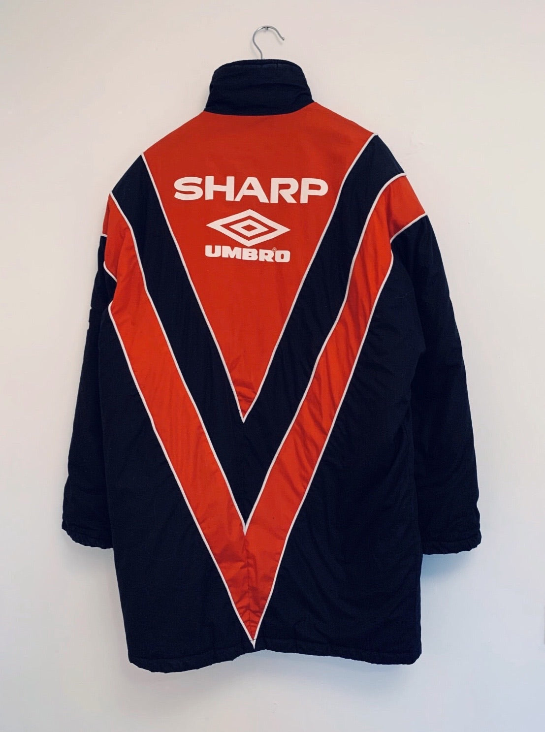1992/93 Manchester United Bench Coat (M) 9/10