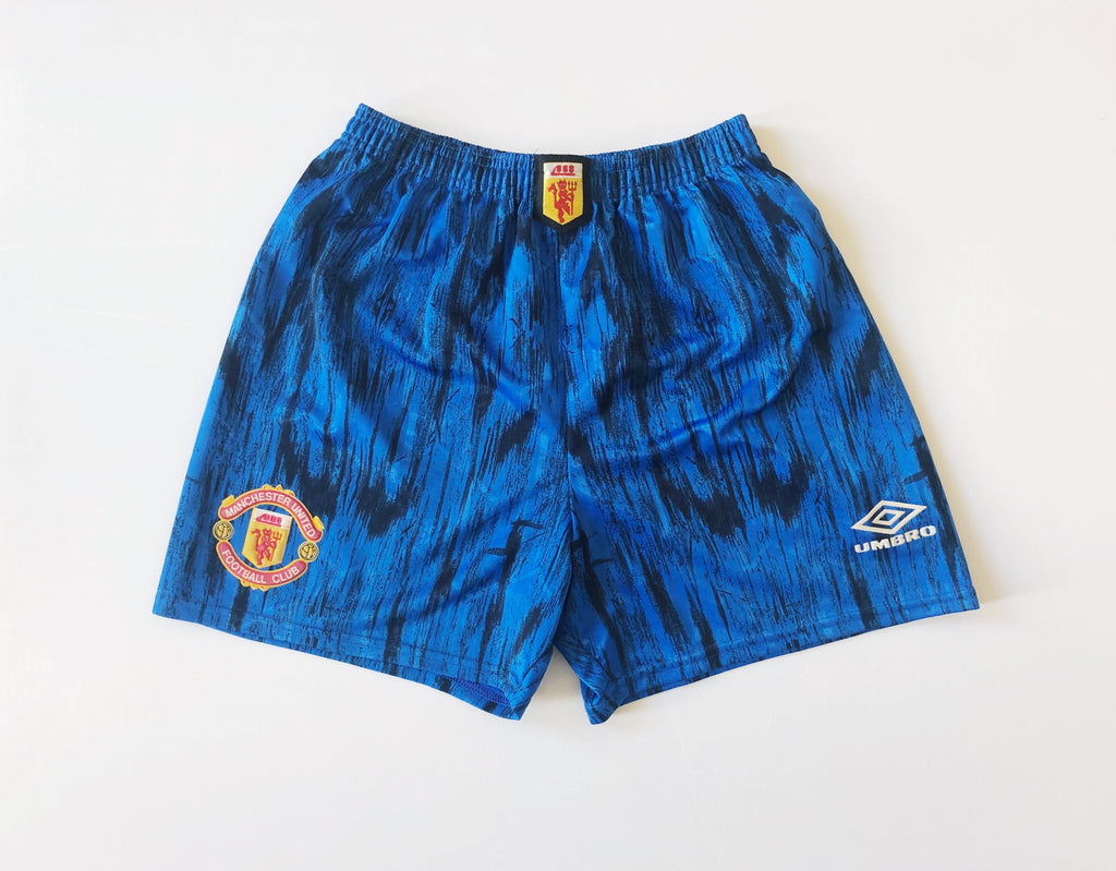 1992/93 Manchester United Away Shorts (M) 9/10