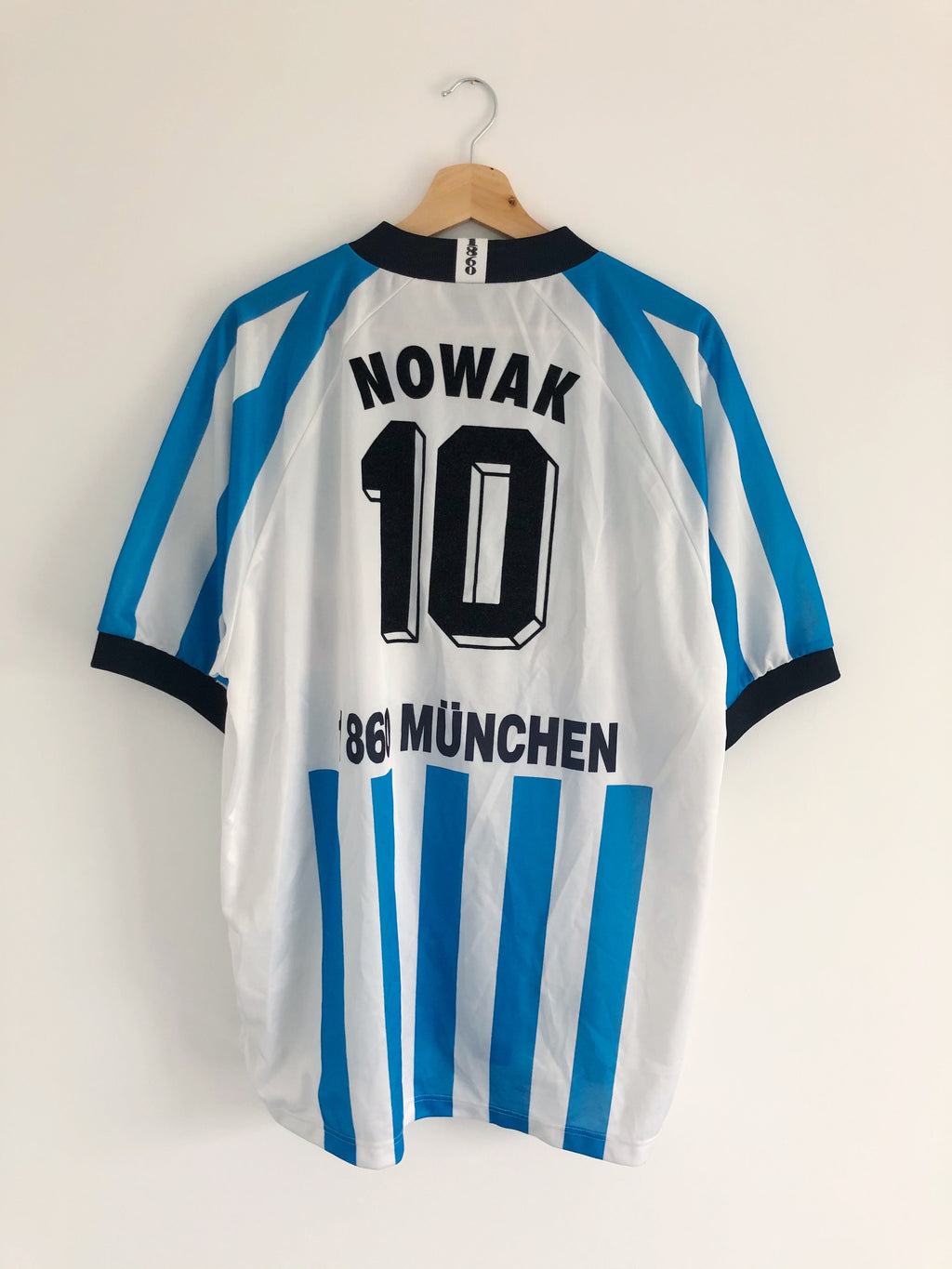 1995/96 1860 Munich Home Shirt Nowak #10 (XL) 8.5/10