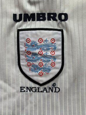 1997/99 England Home Shirt (L) 9/10