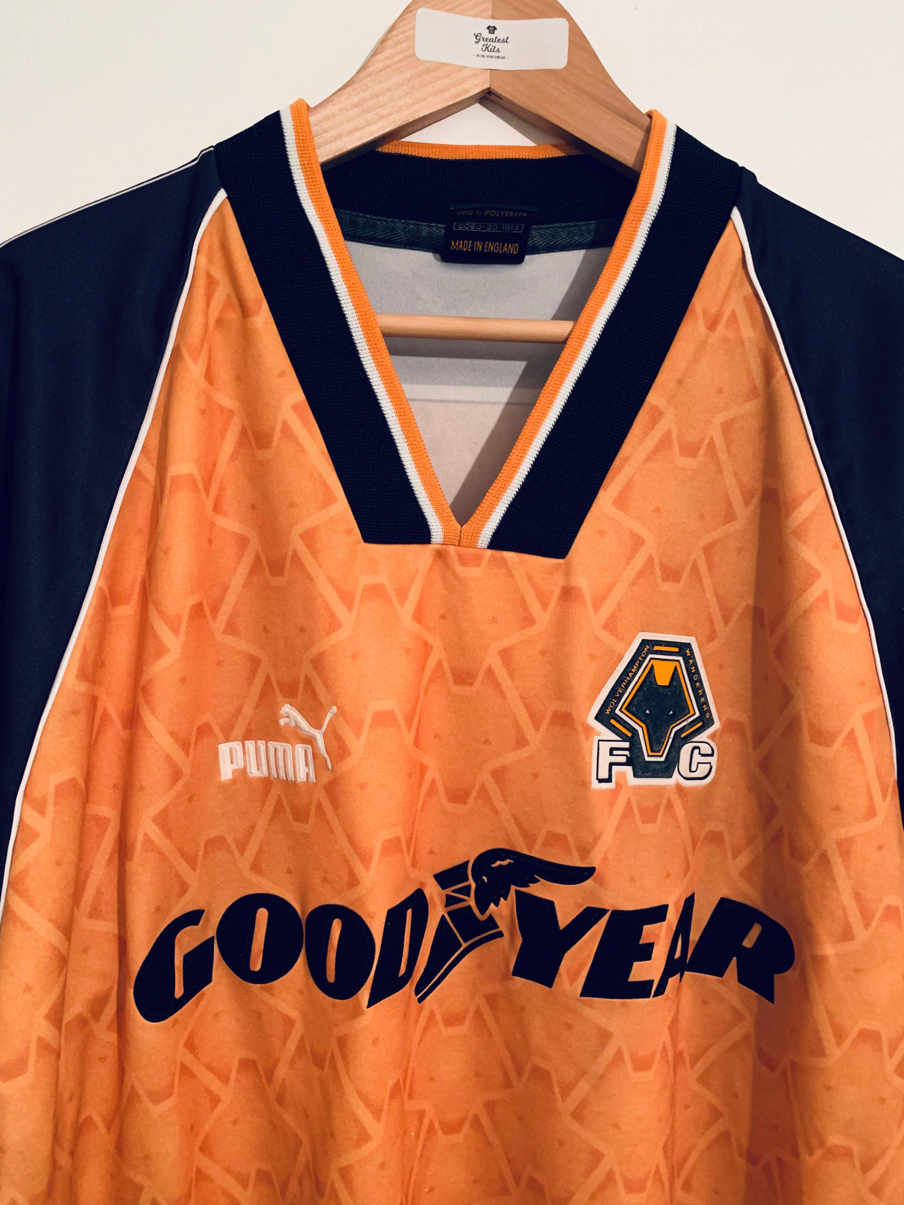 1996/98 Wolves Home Shirt (L)