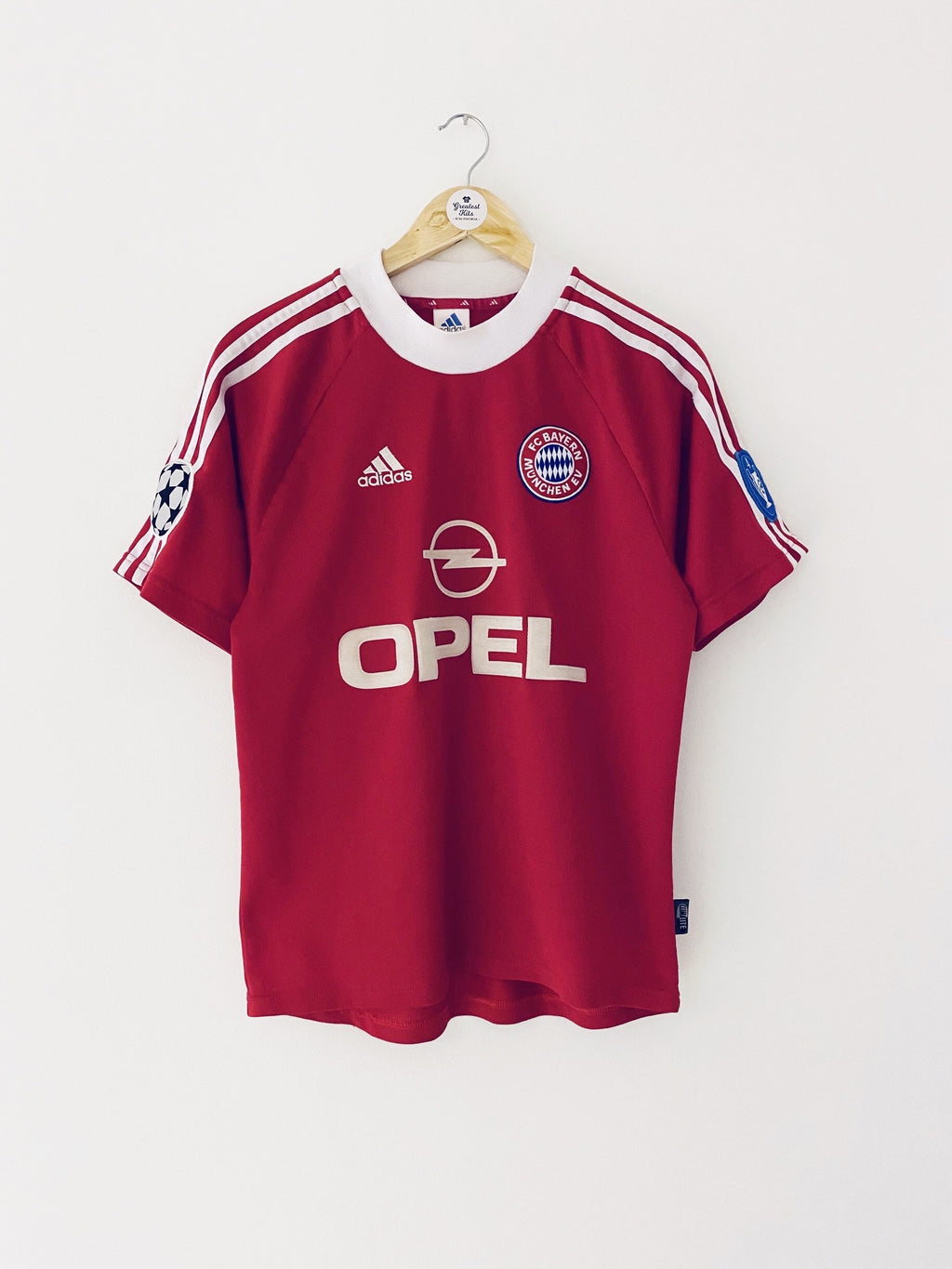 2001/02 Bayern Munich CL Shirt (S) 9/10