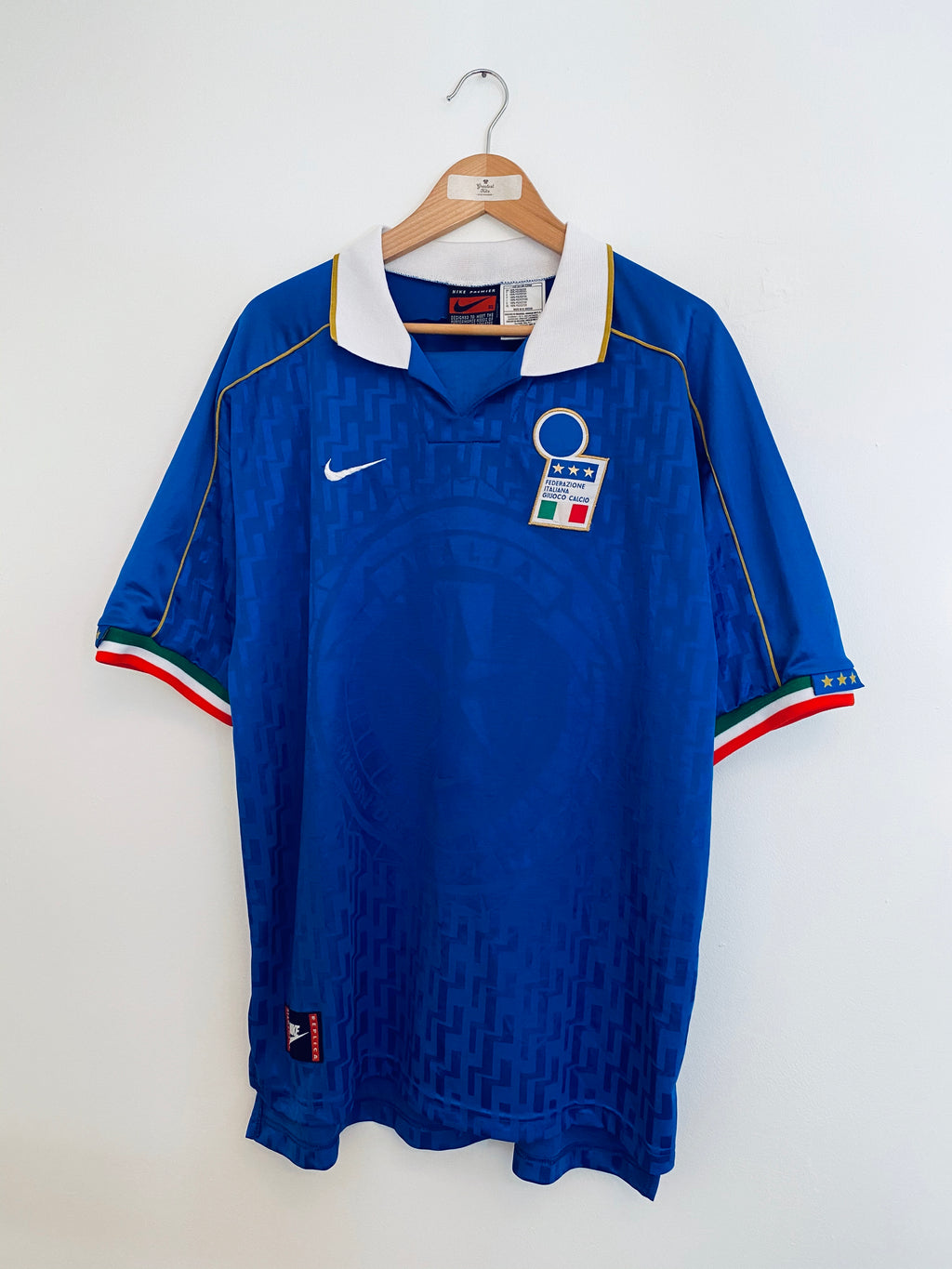 1994/96 Italy Home Shirt (XL) 9/10