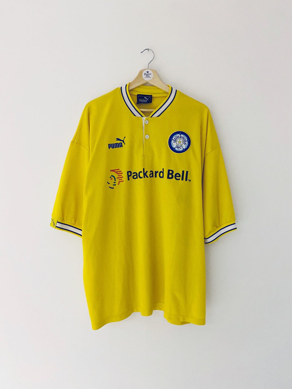 1996/99 Leeds United Away Shirt (XXL) 9/10