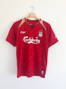 2005/06 Liverpool CL Home Shirt (XS) 9/10