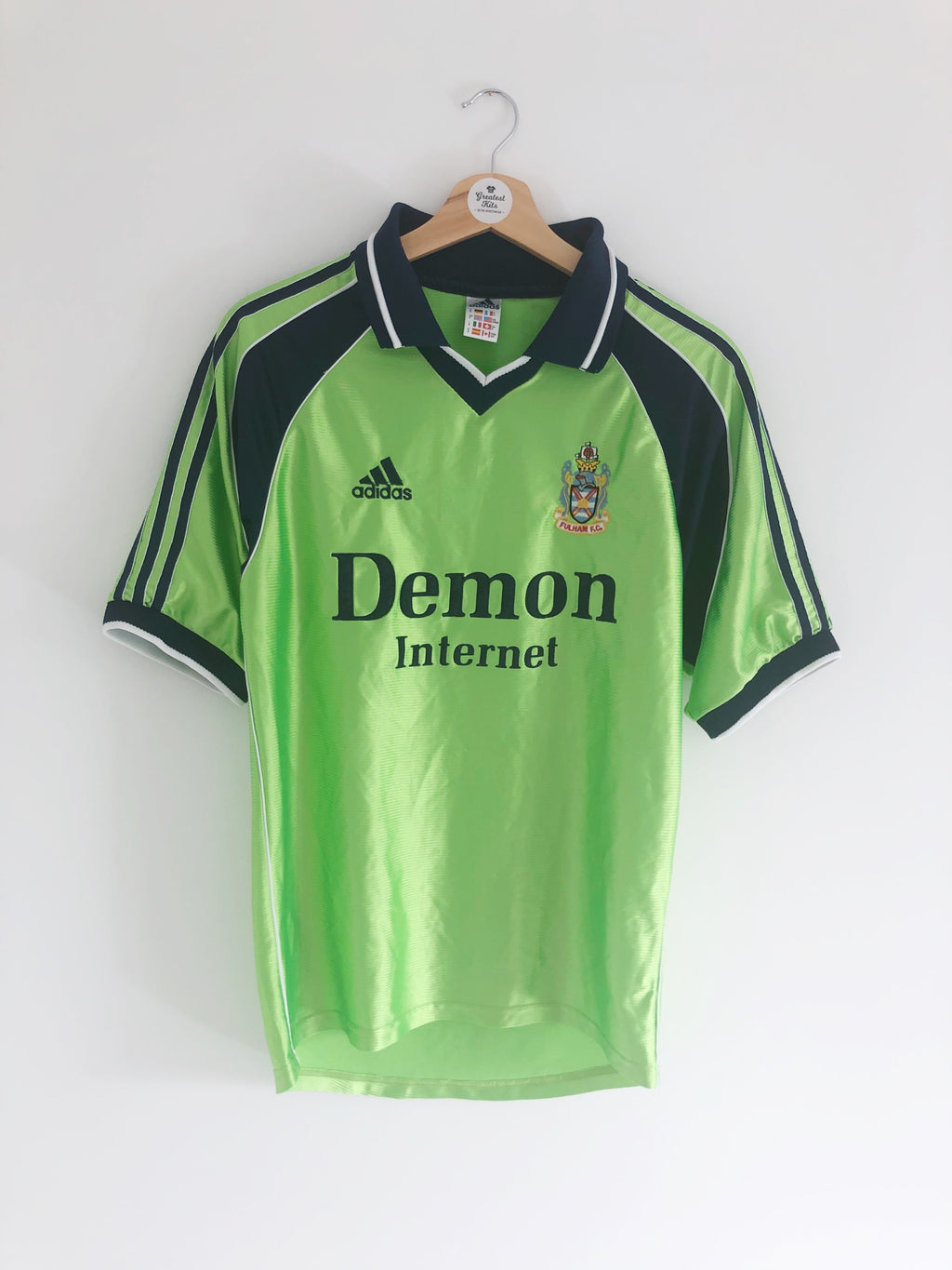 1999/00 Fulham Away Shirt (S) 8/10