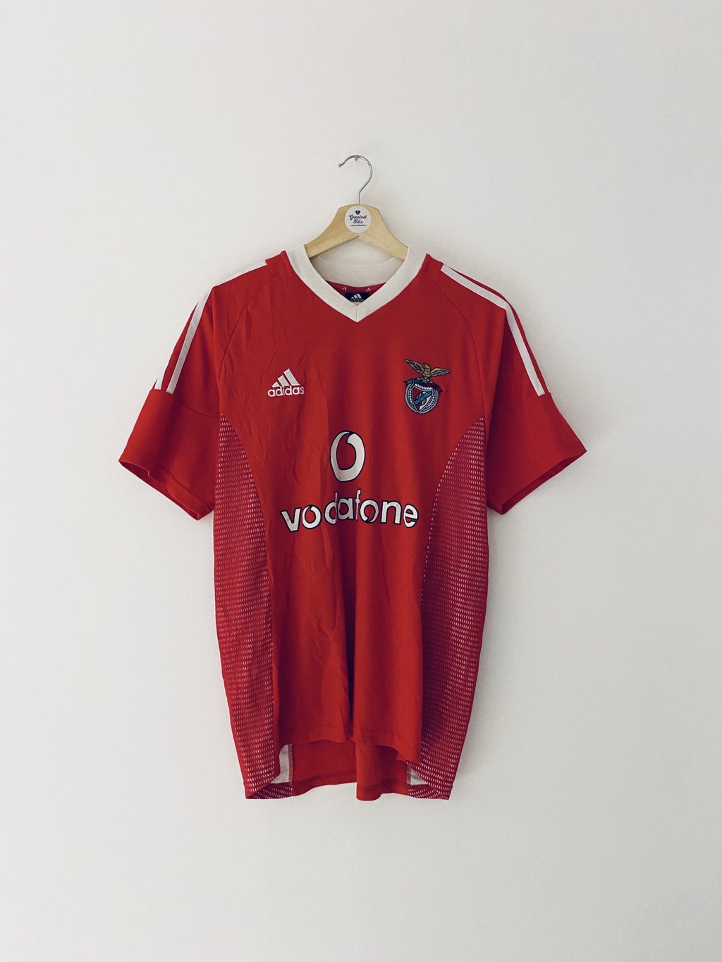 2002/03 Benfica Home Shirt (M) 8.5/10