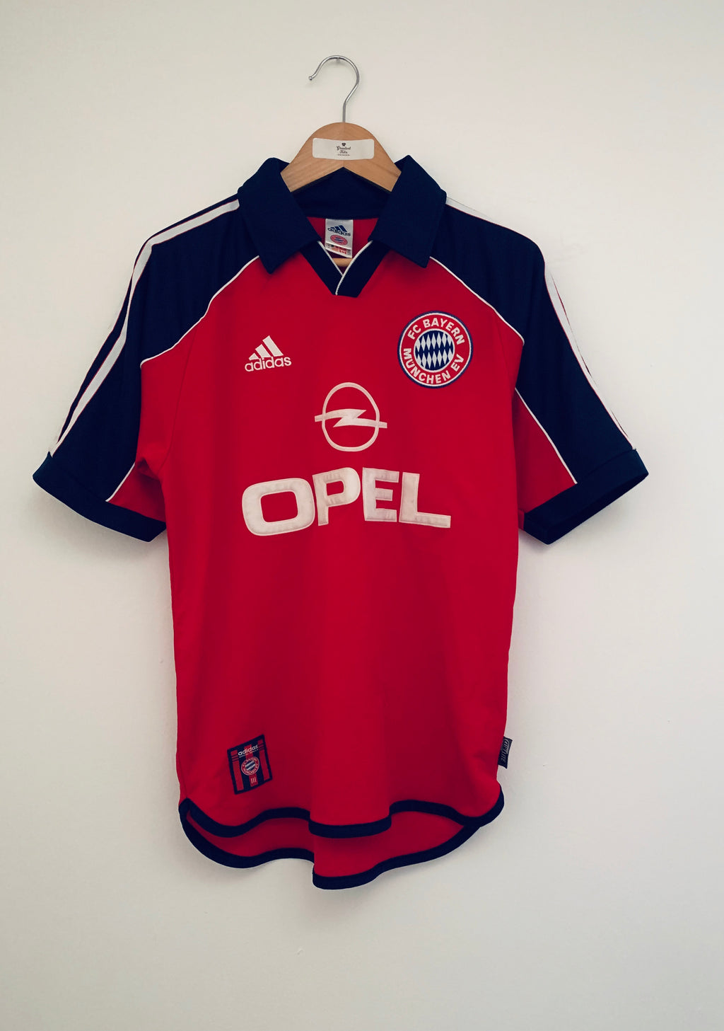 1999/01 Bayern Munich Home Shirt (S) 7.5/10