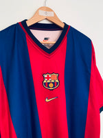 1998/00 Barcelona Home Shirt (XL) 8.5/10