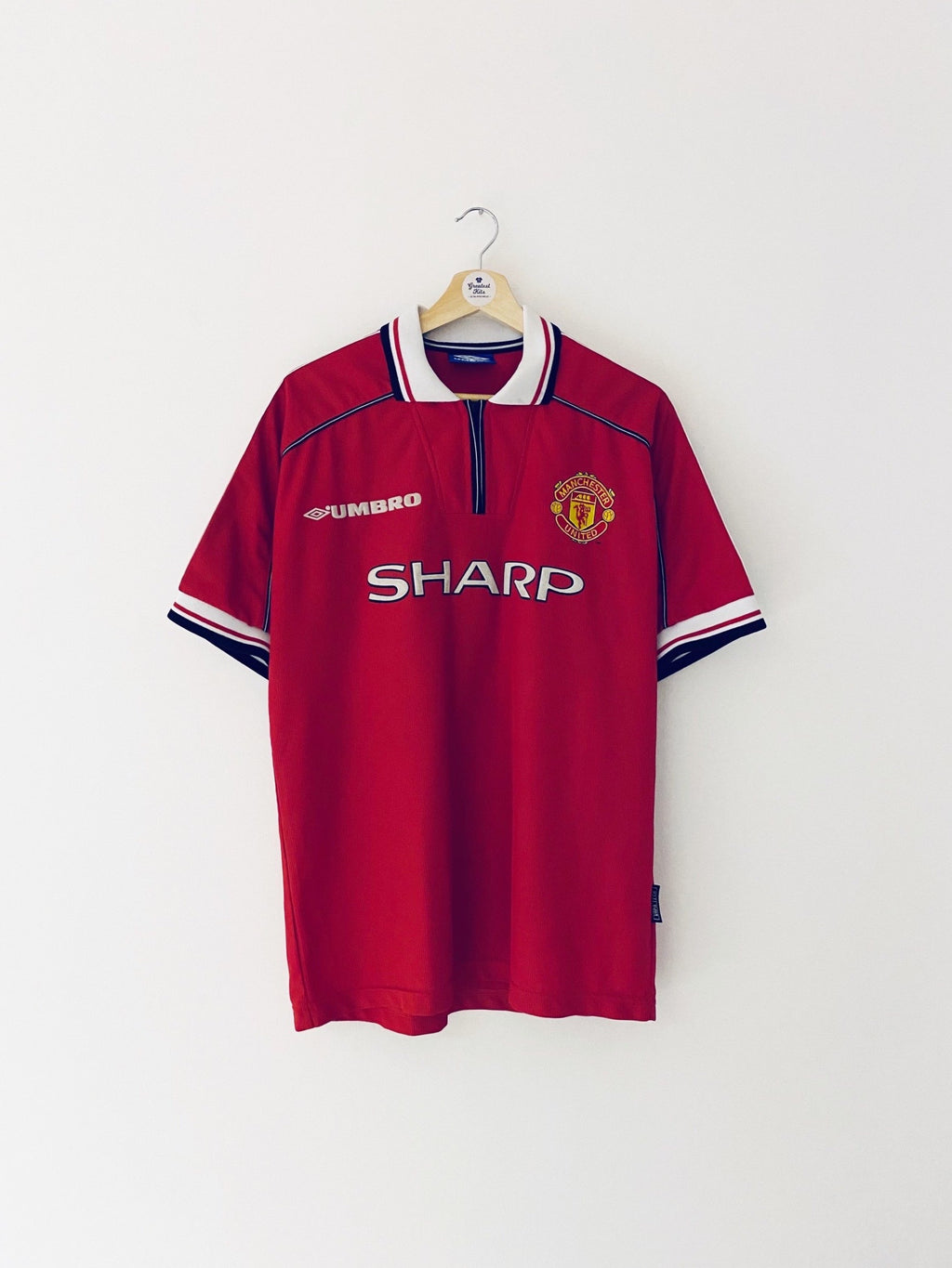 1998/00 Manchester United Home Shirt (L) 7.5/10