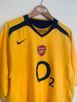 2005/06 Arsenal Away Shirt (XL) 9/10