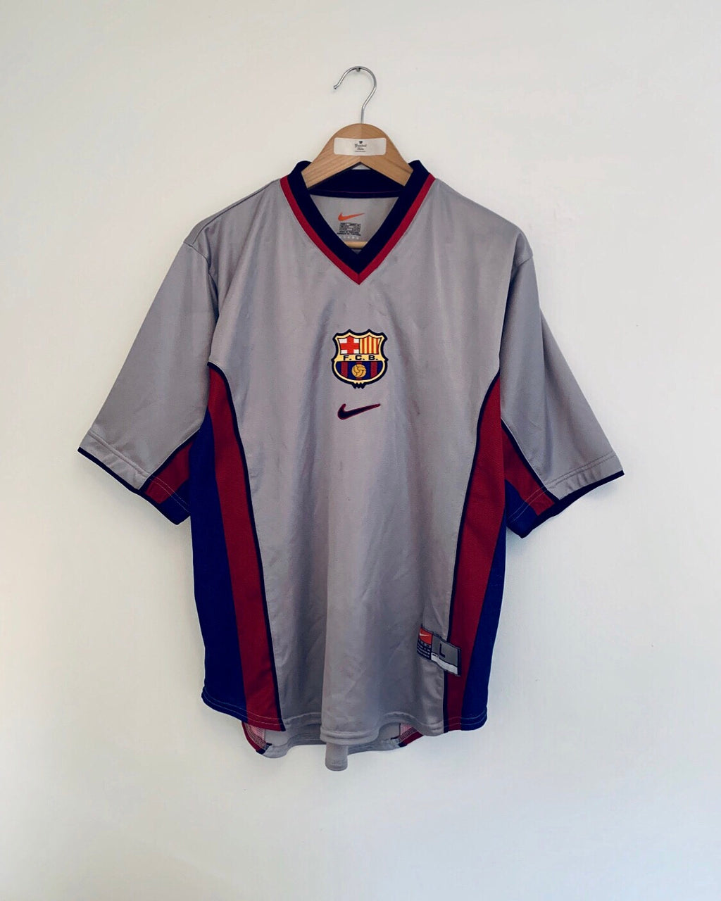 1998/01 Barcelona Away Shirt (L)