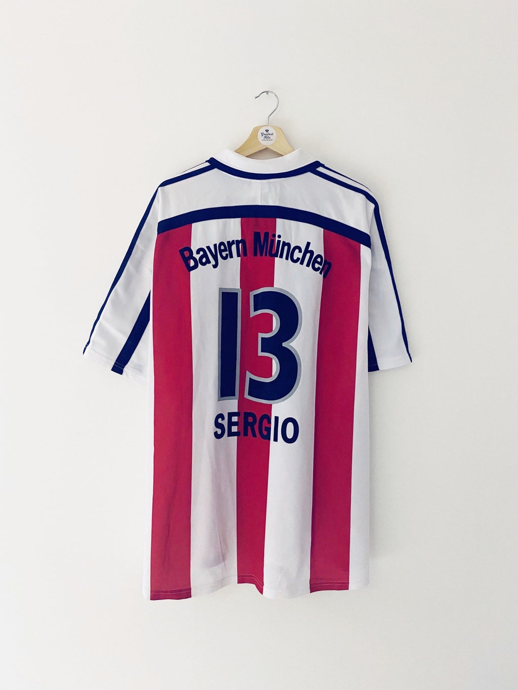 2000/01 Bayern Munich Away Shirt Sergio #13 (XXL) 9.5/10