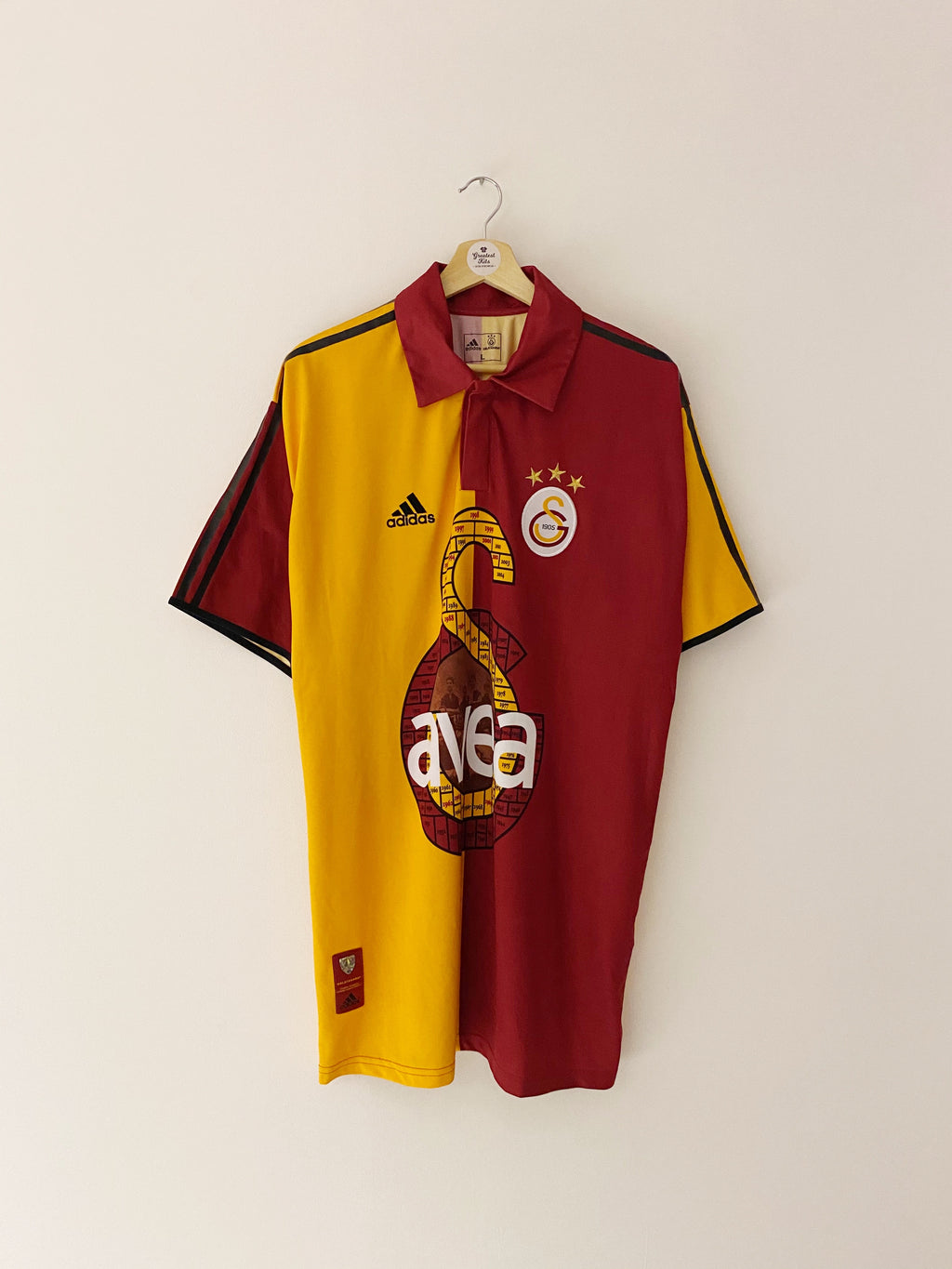 2005 Galatasaray Home Centenary Shirt (L) 9/10