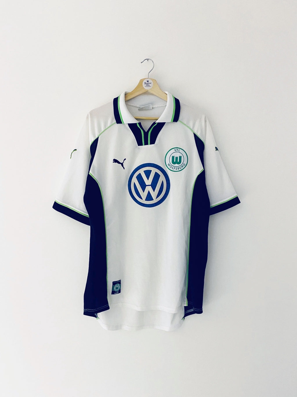 1999/00 Wolfsburg Away Shirt (L) 7/10
