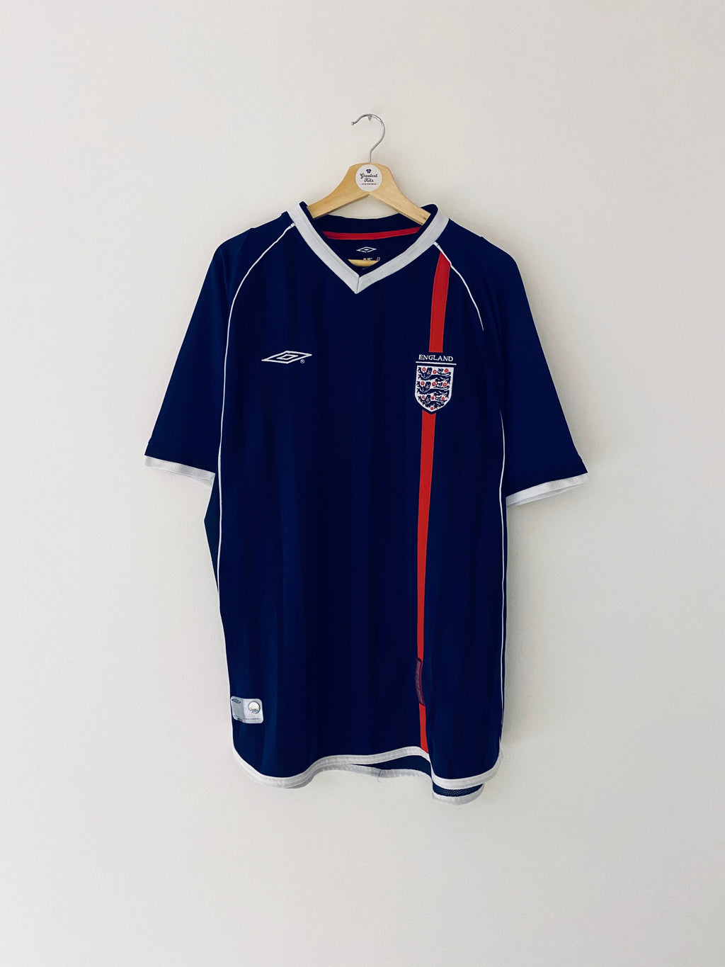 2001/03 England Third Shirt (XL) 9/10