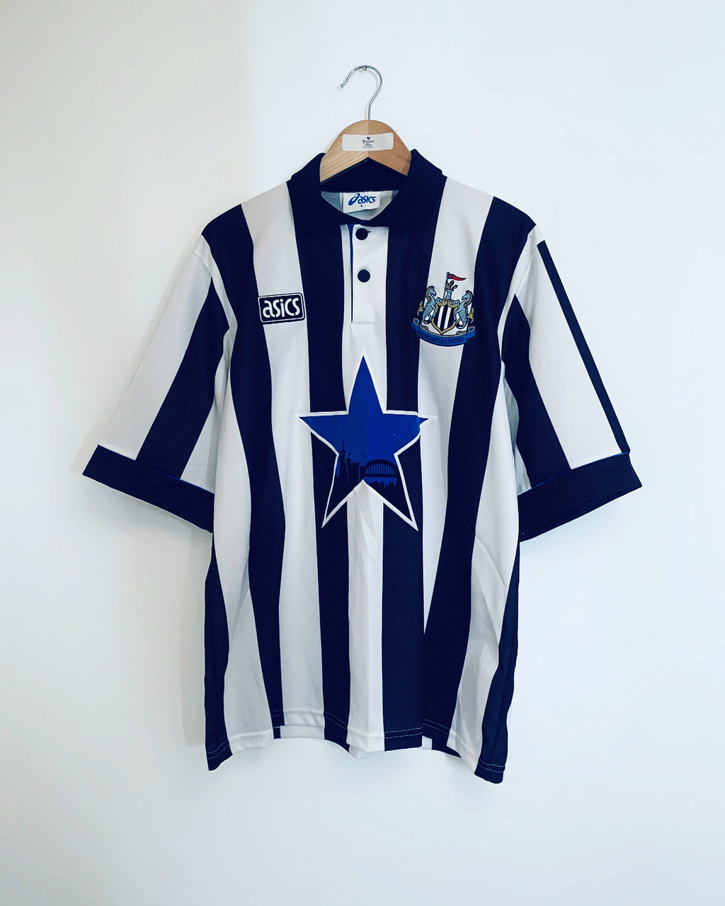 1993/95 Newcastle Home Shirt (L) 9.5/10
