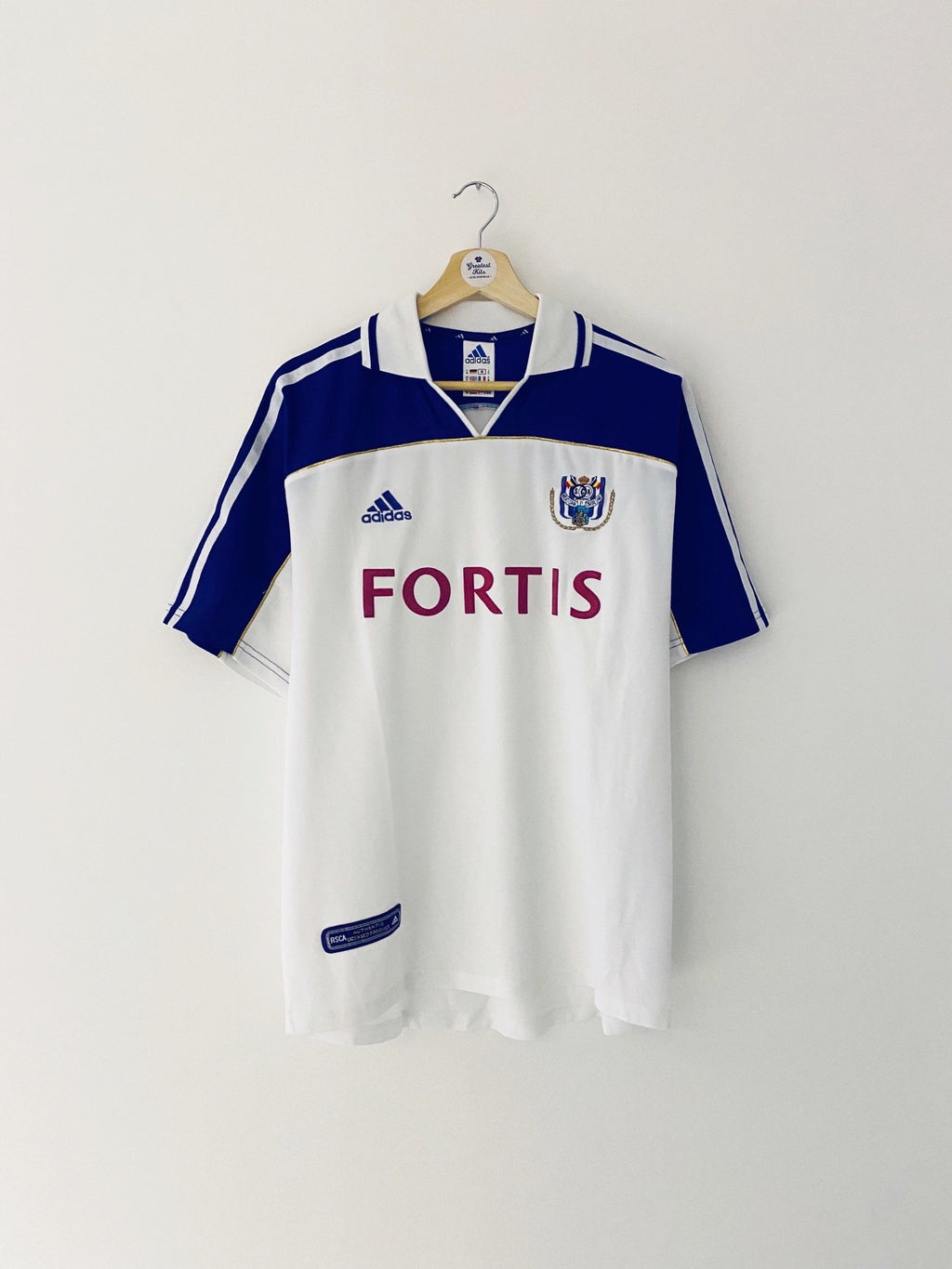2000/01 Anderlecht Home Shirt (M) 9/10