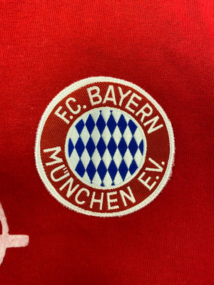 1989/91 Bayern Munich Home L/S Shirt (M) 8.5/10