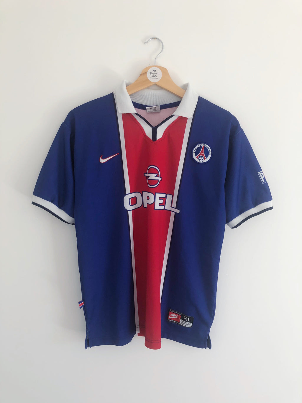 1997/98 Paris Saint-Germain Home Shirt (XL.Boys) 9/10