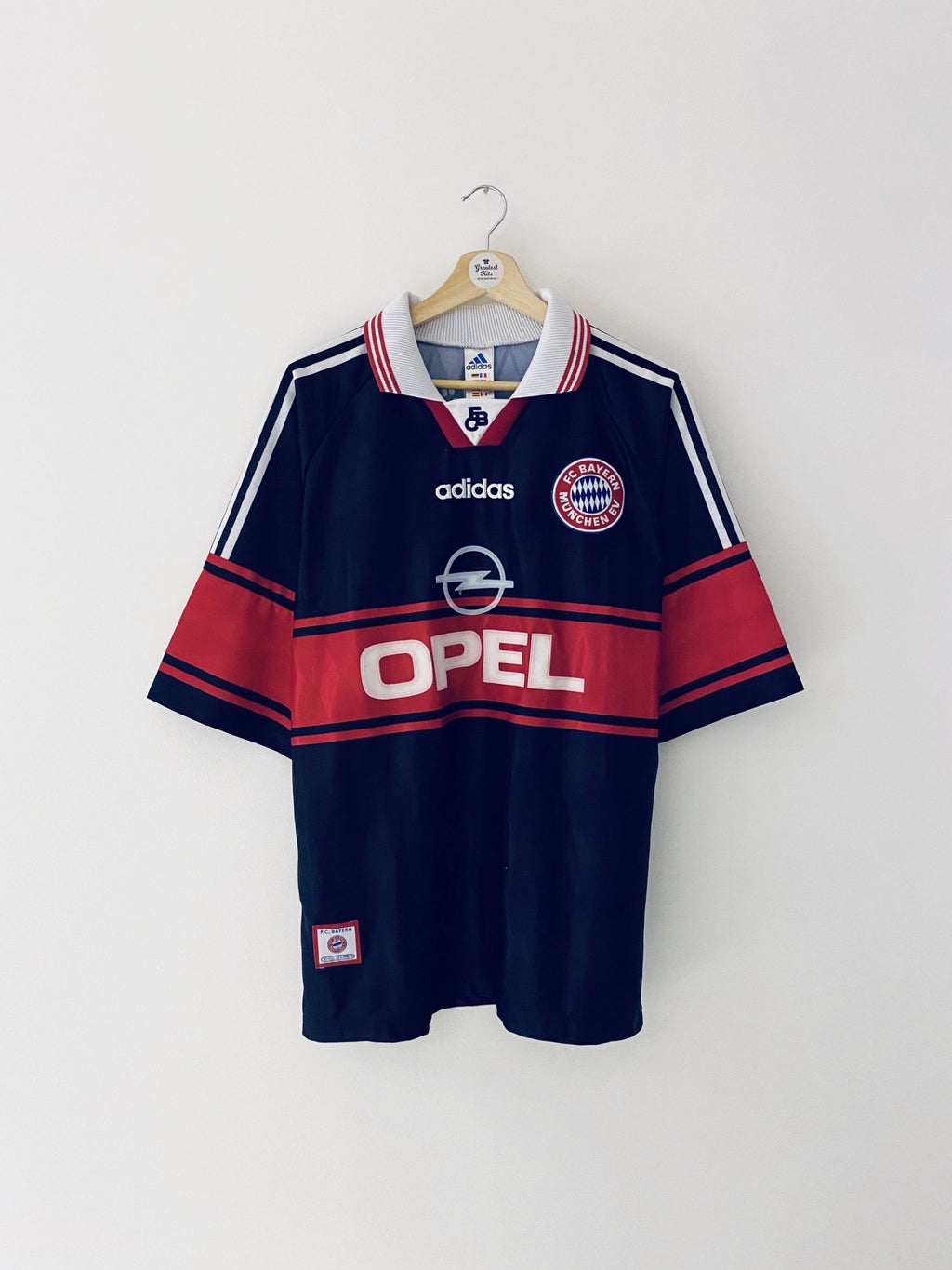 1997/99 Bayern Munich Home Shirt (L) 8/10