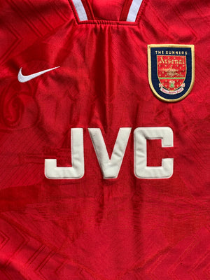 1996/98 Arsenal Home Shirt (L) 8.5/10