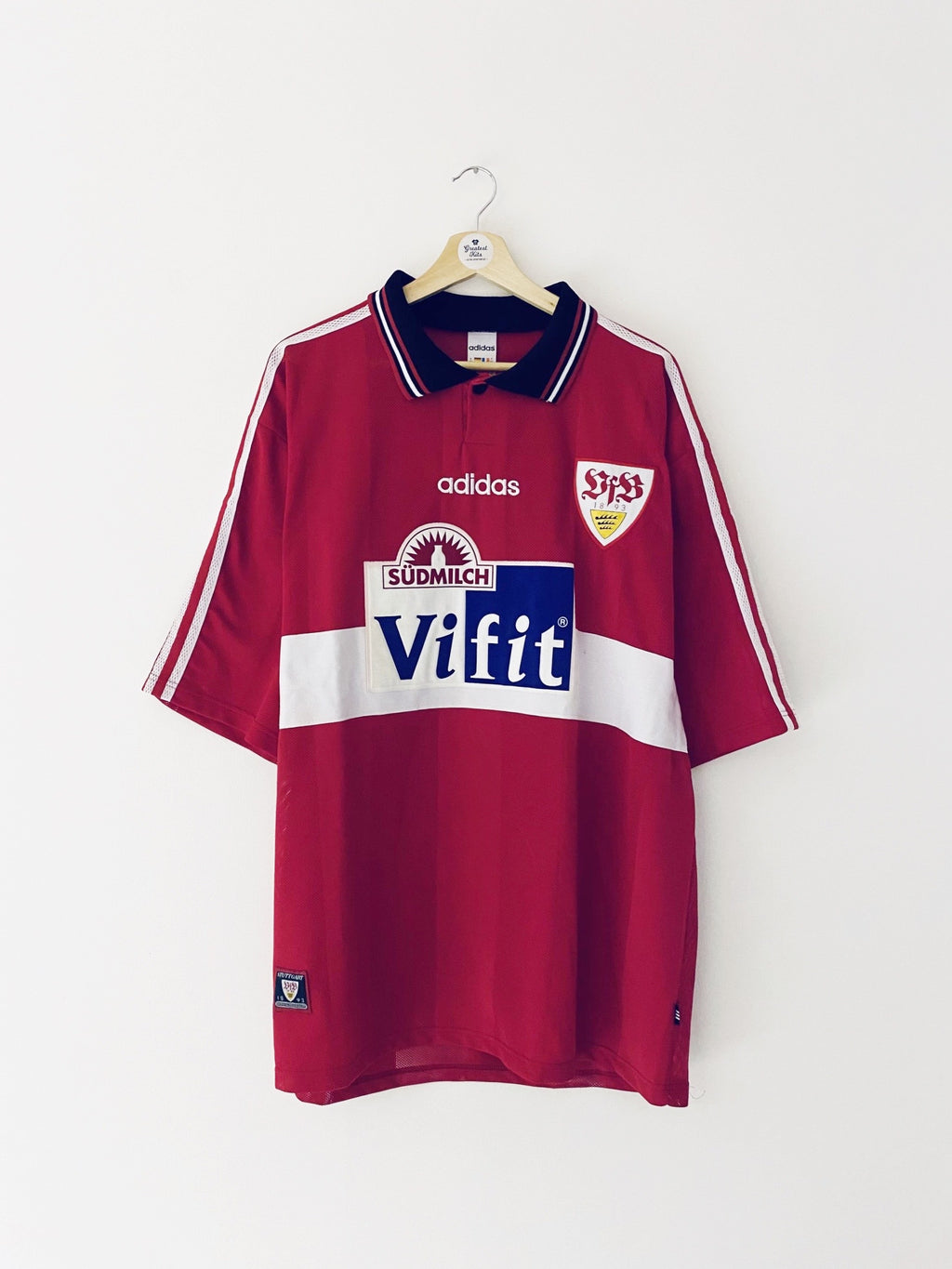 1996/97 Stuttgart Away Shirt (XXL) 9/10